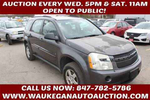 2007 Chevrolet Equinox for sale at Waukegan Auto Auction in Waukegan IL