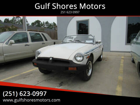 1980 MG MGB for sale at Gulf Shores Motors in Gulf Shores AL