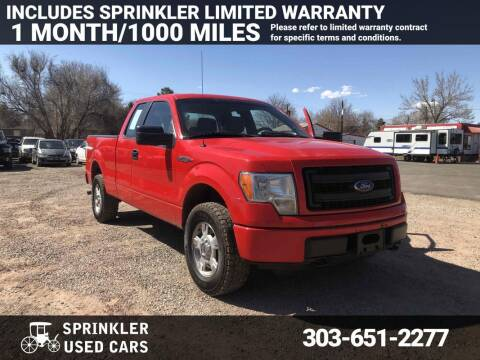 2014 Ford F-150 for sale at Sprinkler Used Cars in Longmont CO