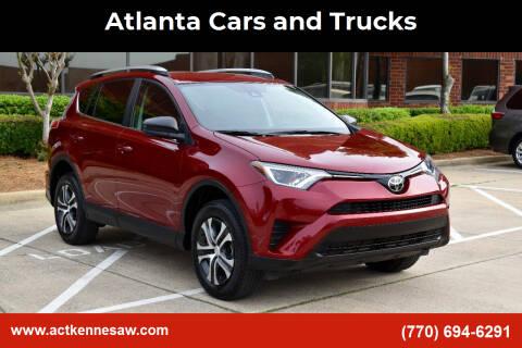 2018 Toyota RAV4 for sale at Atlanta Cars and Trucks in Kennesaw GA