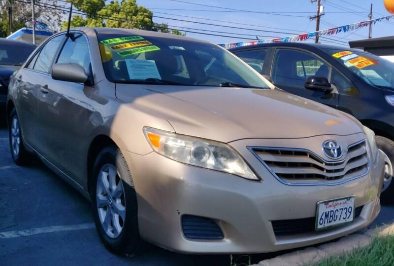 2010 Toyota Camry for sale at Apollo Auto El Monte in El Monte CA