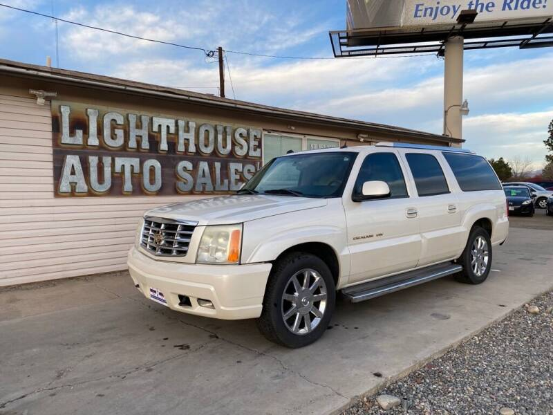 2005 Cadillac Escalade ESV for sale at Lighthouse Auto Sales LLC in Grand Junction CO