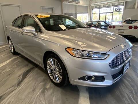 2015 Ford Fusion for sale at Crossroads Car & Truck in Milford OH