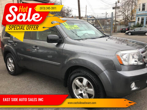 2011 Honda Pilot for sale at EAST SIDE AUTO SALES INC in Paterson NJ