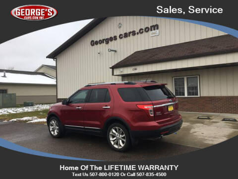 2013 Ford Explorer for sale at GEORGE'S CARS.COM INC in Waseca MN