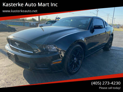 2014 Ford Mustang for sale at Kasterke Auto Mart Inc in Shawnee OK