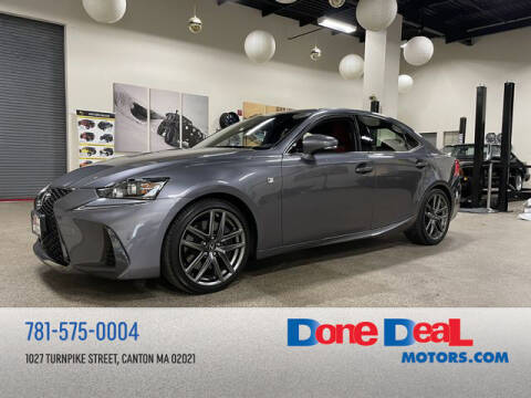 2018 Lexus IS 350 for sale at DONE DEAL MOTORS in Canton MA