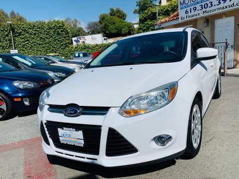2012 Ford Focus for sale at MotorMax in Lemon Grove CA