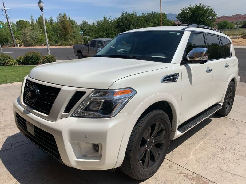 2018 Nissan Armada for sale at Car Works in Saint George UT