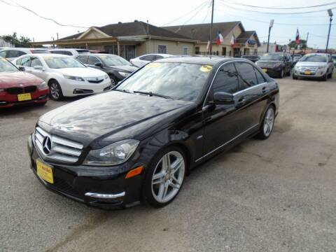 2012 Mercedes-Benz C-Class for sale at BAS MOTORS in Houston TX