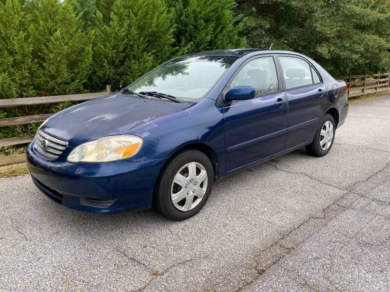 2004 Toyota Corolla for sale at Front Porch Motors Inc. in Conyers GA