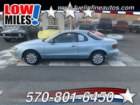 1990 Toyota Celica for sale at FUELIN FINE AUTO SALES INC in Saylorsburg PA