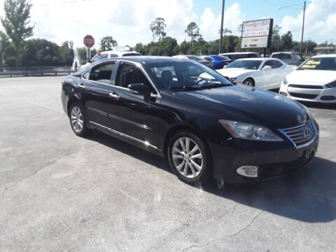2012 Lexus ES 350 for sale at FAMILY AUTO BROKERS in Longwood FL