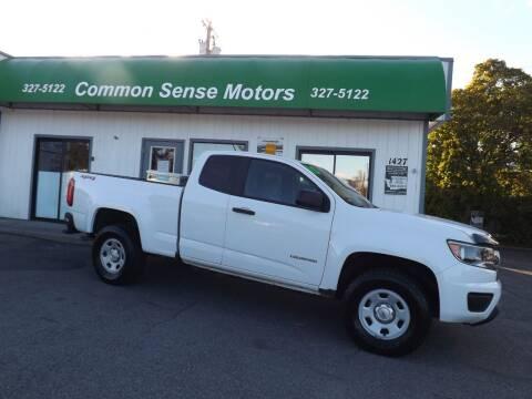 2015 Chevrolet Colorado for sale at Common Sense Motors in Spokane WA