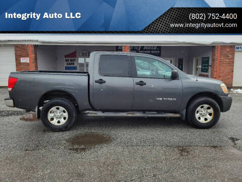 2006 Nissan Titan for sale at Integrity Auto LLC - Integrity Auto 2.0 in St. Albans VT