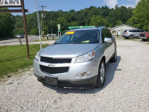 2012 Chevrolet Traverse for sale at ROUTE 68 PRE-OWNED AUTOS & RV'S LLC in Parkersburg WV