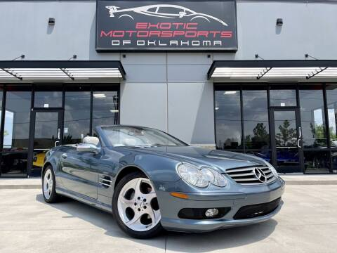 2005 Mercedes-Benz SL-Class for sale at Exotic Motorsports of Oklahoma in Edmond OK