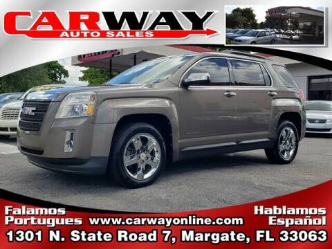 2012 GMC Terrain for sale at CARWAY Auto Sales in Margate FL