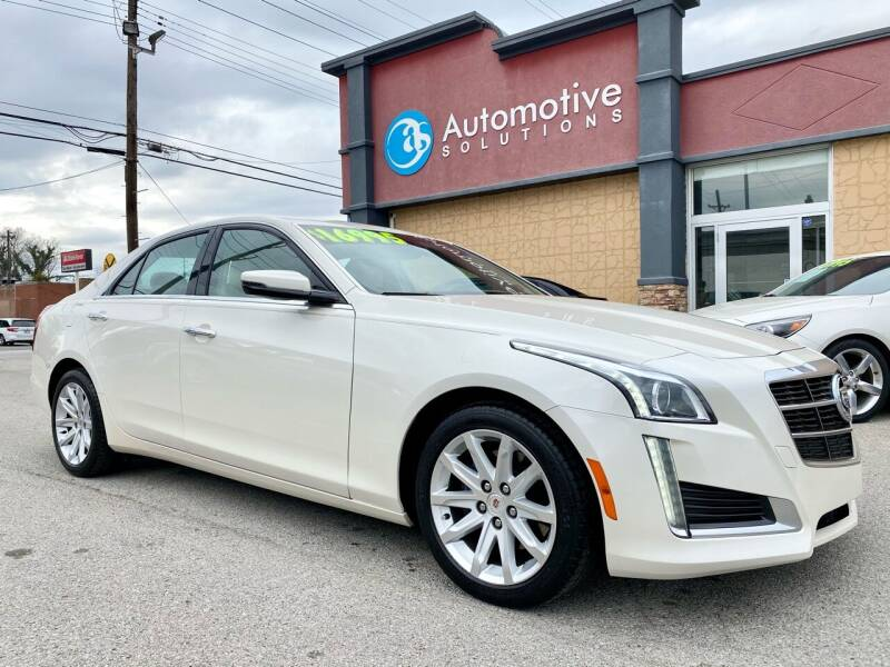 2014 Cadillac CTS for sale at Automotive Solutions in Louisville KY