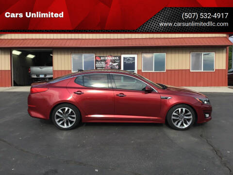 2014 Kia Optima for sale at Cars Unlimited in Marshall MN