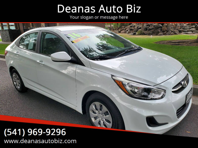 2016 Hyundai Accent for sale at Deanas Auto Biz in Pendleton OR