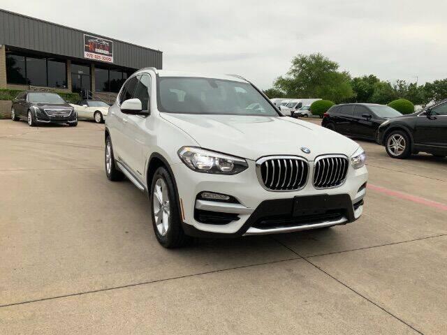 2018 BMW X3 for sale at KIAN MOTORS INC in Plano TX