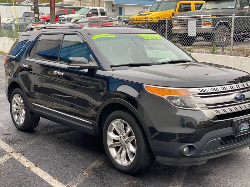 2014 Ford Explorer for sale at Ginters Auto Sales in Camp Hill PA