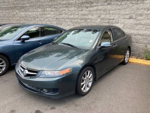 2007 Acura TSX for sale at ENFIELD STREET AUTO SALES in Enfield CT