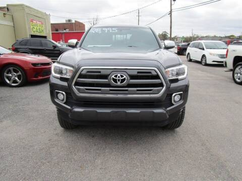 2016 Toyota Tacoma for sale at DERIK HARE in Milton FL