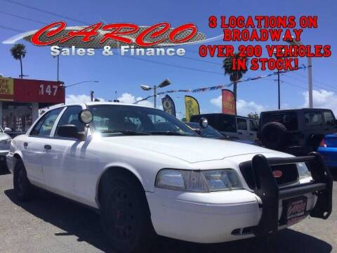2010 Ford Crown Victoria for sale at CARCO SALES & FINANCE #2 in Chula Vista CA
