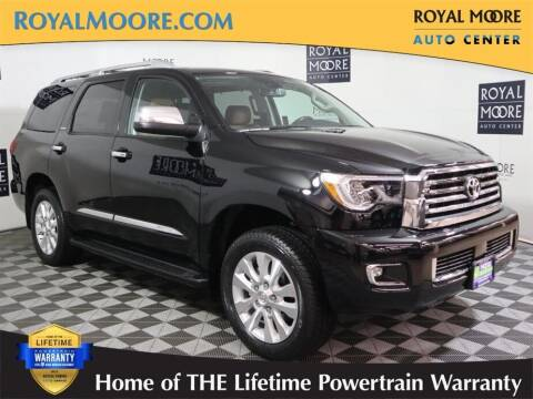 2021 Toyota Sequoia for sale at Royal Moore Custom Finance in Hillsboro OR