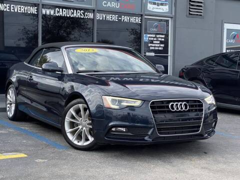 2013 Audi A5 for sale at CARUCARS LLC in Miami FL