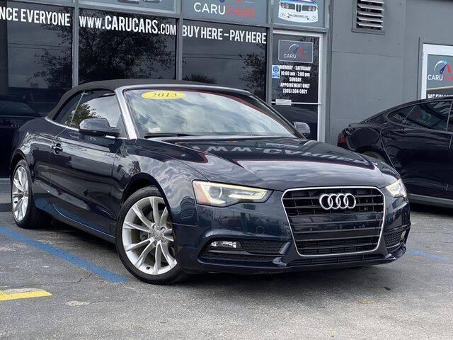 2013 Audi A5 for sale at CARUCARS LLC in Miami FL