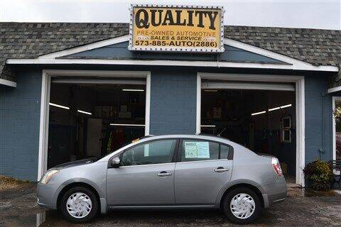 2008 Nissan Sentra for sale at Quality Pre-Owned Automotive in Cuba MO