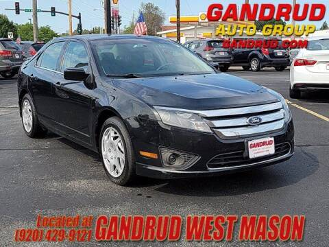 2010 Ford Fusion for sale at GANDRUD CHEVROLET in Green Bay WI