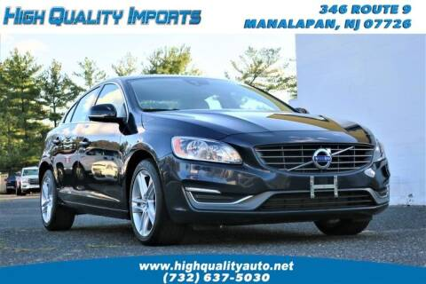 2014 Volvo S60 for sale at High Quality Imports in Manalapan NJ