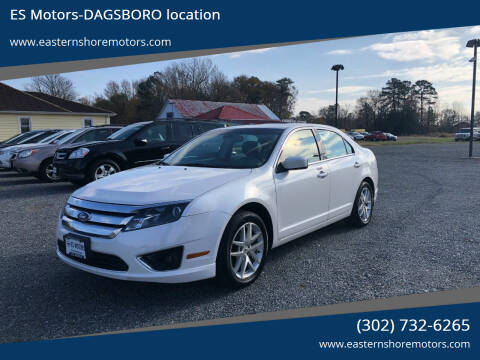 2011 Ford Fusion for sale at ES Motors-DAGSBORO location in Dagsboro DE