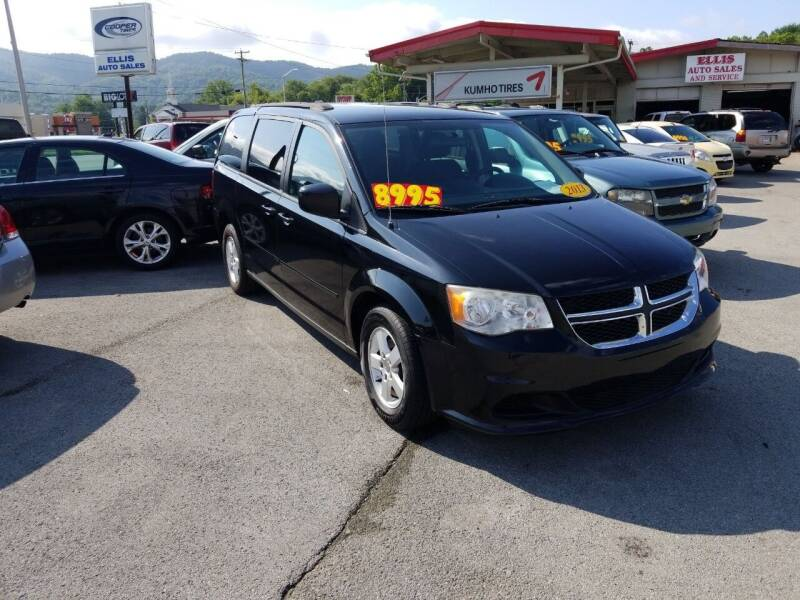 2013 Dodge Grand Caravan for sale at Ellis Auto Sales and Service in Middlesboro KY