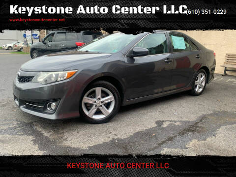 2012 Toyota Camry for sale at Keystone Auto Center LLC in Allentown PA