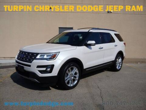 2016 Ford Explorer for sale at Turpin Dodge Chrysler Jeep Ram in Dubuque IA