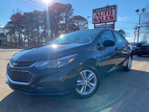 2016 Chevrolet Cruze for sale at Carafello's Auto Sales in Norfolk VA