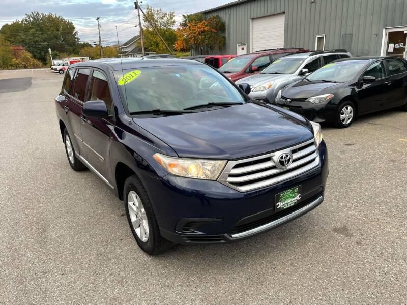 2011 Toyota Highlander for sale at Vermont Auto Service in South Burlington VT