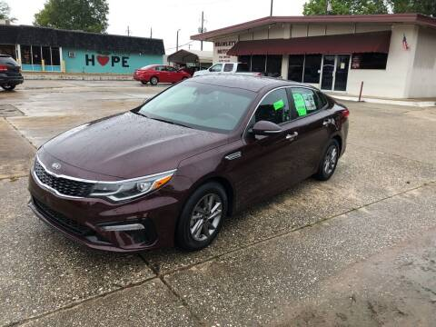 2020 Kia Optima for sale at BRAMLETT MOTORS in Hope AR