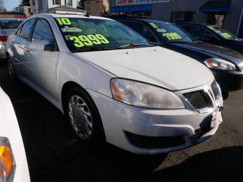 2010 Pontiac G6 for sale at M & R Auto Sales INC. in North Plainfield NJ