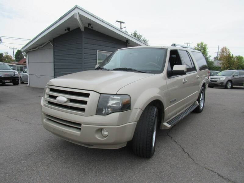 2007 Ford Expedition EL for sale at Crown Auto in South Salt Lake UT