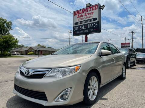 2013 Toyota Camry for sale at Unlimited Auto Group in West Chester OH