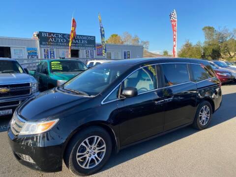 2011 Honda Odyssey for sale at Black Diamond Auto Sales Inc. in Rancho Cordova CA