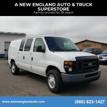 2014 Ford E-Series Cargo for sale at A NEW ENGLAND AUTO & TRUCK SUPERSTORE in East Windsor CT