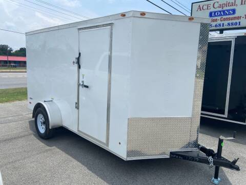 2022 Freedom 6x12SA for sale at STOP N GO MOTORS - Enclosed Trailers in Maryville TN
