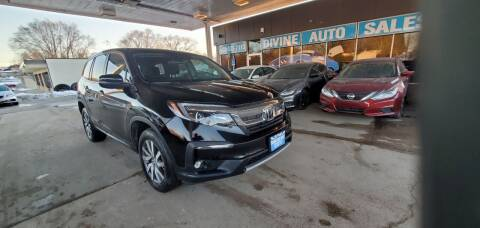 2019 Honda Pilot for sale at Divine Auto Sales LLC in Omaha NE